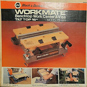 Black And Decker Workmate Benchtop Work Center And Vise Model 79-020- New, In Box