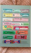 Original Collection Of Chewing Gum Wrappers From Around The World. 16 Pages.