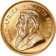 [895723] Coin South Africa Krugerrand 1982 Ms Gold Km73