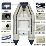 Inflatable Pvc Boat Water Sports Transportation Drifting Rubber Fishing Boats 4m
