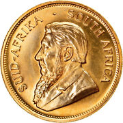 [895722] Coin South Africa Krugerrand 1980 Ms Gold Km73