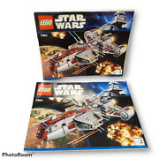 Lego 7964 Republic Frigate Instruction Manuals Books 1 And 2 Only Star Wars