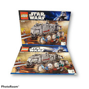 Lego 8098 Clone Turbo Tank Instruction Manuals Books 1 And 2 Only Star Wars