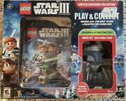 Wii Lego Star Wars Iii The Clone Wars With Jango Fett Limited Exclusive Collect