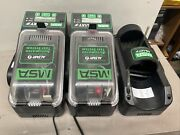 Msa Galaxy Gx2 Altair 4x And 4xr Automated Gas Detector As Is For Parts Untested