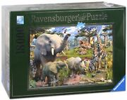 18000 Pieces Jigsaw Puzzle Ravensburger At The Waterhole 17823