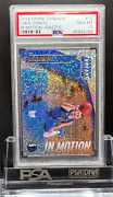 2018 Panini Threads Luka Doncic Rookie Psa 10 In Motion Dazzle - Gem Mint 15