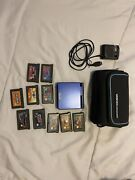 Gameboy Advance Sp Gameboy With Case/charger And 10 Games Mint Gameboy