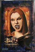 Alyson Hannigan Signed Sideshow Collectibles Vampire Willow Buffy Tvs Rare