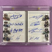 2015 National Treasures Signatures Ts81rd Rc Book Card Holo Silver Auto /10