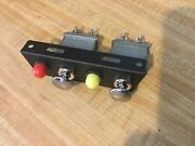 Vintage Dash Switch Panel With Lights For Cooling Fan Fog Fuel Pump 75a Pollak