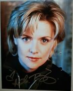 Amanda Tapping Autographed 10x8 Photo Colonel Samantha Carter In Stargate Sg1