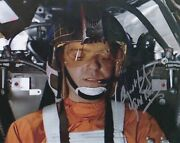 Angus Mcguinnes 10x8 Signed In Silver - Star Wars A New Hops