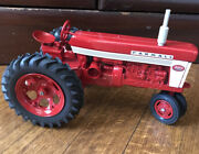 Restored Ertl Farmall 460 Narrow Front Fast Hitch Toy Tractor