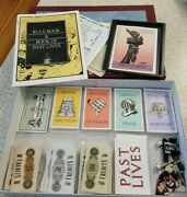 Past Lives Board Game Avalon Hill Game Company 1988