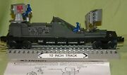 Lionel 16751 Operating Airex Sports Channel 7 Tv Car 3545 W/ Figures O/027 '97
