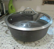 Calphalon Contemporary 8.5 Quart Non-stick Pot Dutch Oven W Lid 8788 1/2
