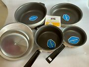 Vintage Regal Aluminum Cookware With Silverstone 8 Pc Set New Without Box