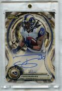 1/1 2015 Topps Finest Todd Gurley Atomic Rookie Auto Superfractors Rc Beautiful