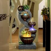 Water Fountains Home Garden Decoratives European Pots Style Office House Display
