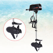 48v 1800w Electric Outboard Trolling Motor Fishing Boat Engine Brushless 3000rpm