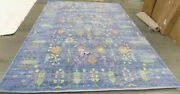 Blue / Multi 9' X 12' Back Stain Rug Reduced Price 1172599379 Val108m-9