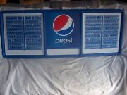 New 4ft Pepsi-cola Menu Board Sign W/2 Sets Of Letters And Numbers