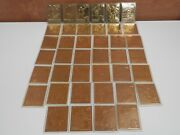 Lot Of 40 The Danbury Mint 22kt Gold World Wrestling Federation Cards Wwf Wwe