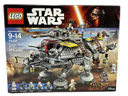 Lego Star Wars Rebels 75157 Captain Rexand039s At-te - Commander Wolffe And Gregor New