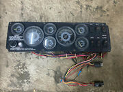 1996 Seaswirl 2150 Boat Dash Board Panel With Instrument Gauges