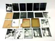 Lot 9 Antique Old 1800s Family Portraits Glass Negatives And Photographs Cullens
