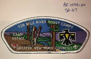 Boy Scout Greater New York Councils Ten Mile River Scout Camps Keowa Csp