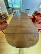 Vintage Ethan Allen Dining Room Table, 6 Chairs