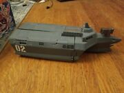 Disney Pixar Movies Cars 2 Spy Stealth Boat Ship Toy Playset Mat Incomplete