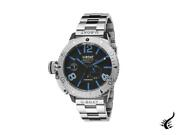 U-boat Classico Sommerso Blue Automatic Watch Black 46 Mm 9014/mt