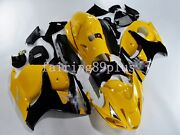 Yellow Black Abs Injection Fairing Kit Fit For 2008-2016 Gsxr1300 Busa Gen2