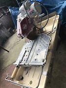 Used 2h.p. Motor Mk-101 Pro 10 Inch Wet Tile Saw Circular Tools And Blade