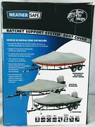 Bass Pro Shops - Weathersafe Ratchet Support Boat Cover - 092229324661