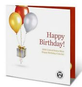 2021 Us Mint Happy Birthday Proof Set - 5 Proof Coins In Folder - 21re - Ogp