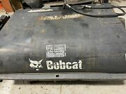 Bobcat Sweeper Attachment - Used With Brand New Poly And Steel Brushes