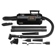 Vacuum Cleaner Air Blower Corded Portable Canister Floor Care Heavy Duty Black