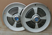 2 15 Hubcaps Wheelcovers For 1965 Ford Galaxie