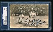 Extraordinary Babe Ruth Signed 1934 Tour Of Japan Type 1 Photo Psa/dna
