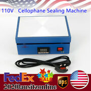 110v Cellophane Wrapping Sealing Machine Play Card Blister Film Packaging Tool