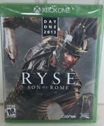 Brand New Ryse Son Of Rome [ Day One Edition ] Xbox One Factory Sealed