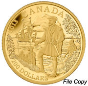 2013 Canada 200 Pure Gold Coin Andndash Great Explorers Series Andndash 2 Jacques