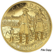 2016 Canada 200 Pure Gold Coin – Great Explorers Series – 5 Pierre Gaultier