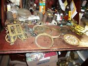 2 Old Mantle Clock Movements And Parts En Welch +