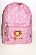 Betty Boop Backpack With 16 Inches Height Pink Color