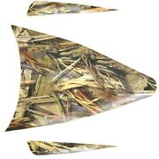 True Timber Camo Boat Corn Camouflage Decals | Tracker Set Of 3